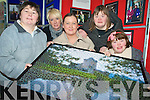 "Pictured at the opening of the Kerry Parents and Friends photo exhibition ""Faces of Killarney"" at the Killarney Credit Union on Thursday were Trisha McCarthy, Michelle Fleming, Danielle O'Brien, Katie Gleeson and Helen O'Sullivan."