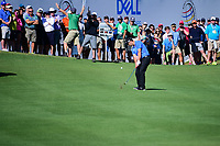 Jon Rahm (ESP) hits his approach shot on 13 during round 4 of the World Golf Championships, Dell Technologies Match Play, Austin Country Club, Austin, Texas, USA. 3/25/2017.<br /> Picture: Golffile | Ken Murray<br /> <br /> <br /> All photo usage must carry mandatory copyright credit (&copy; Golffile | Ken Murray)
