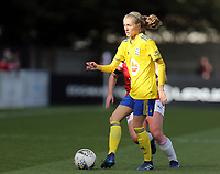 Emma Follis of Birmingham City Women during Arsenal Women vs Birmingham City Ladies, FA Women's Super League Football at Meadow Park on 4th November 2018