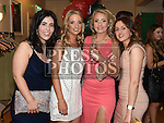 Aoife Kelly, Emma Bracken, Irene Kavanagh and Sarah Hammill at the Glen Emmets dinner dance in The Glenside Hotel. Photo:Colin Bell/pressphotos.ie