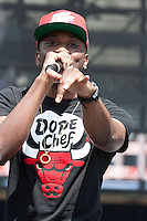 05/12/12 Carson, CA : Chiddy Bang performs during KISS FM's Wango Tango concert held at the Home Depot Center