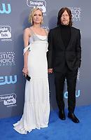 11 January 2018 - Santa Monica, California - Diane Kruger, Norman Reedus. 23rd Annual Critics' Choice Awards held at Barker Hangar. <br /> CAP/ADM/BT<br /> &copy;BT/ADM/Capital Pictures