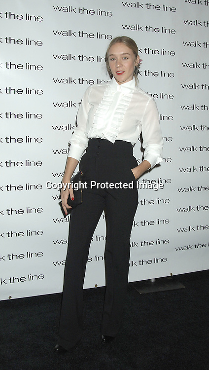 """Chloe Sevigny ..at The New York Premiere of """"Walk The Line"""" on November 13, 2005 at The Beacon Theatre. ..Photo by Robin Platzer, Twin Images"""