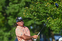 Pat Perez (USA) watches his tee shot on 12 during 1st round of the 100th PGA Championship at Bellerive Country Cllub, St. Louis, Missouri. 8/9/2018.<br /> Picture: Golffile | Ken Murray<br /> <br /> All photo usage must carry mandatory copyright credit (© Golffile | Ken Murray)