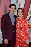 "Adam Brody, Leighton Meester<br /> at the ""Shazam!"" Premiere, TCL Chinese Theater, Hollywood, CA 03-28-19<br /> David Edwards/DailyCeleb.com 818-249-4998"