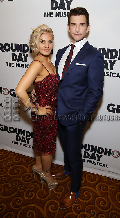 Orfeh and Andy Karl attends the Broadway Opening Night After Party for 'Groundhog Day' at Gotham Hall on April 17, 2017 in New York City.