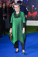 "Prue Leith<br /> arriving for the ""Mary Poppins Returns"" premiere at the Royal Albert Hall, London<br /> <br /> ©Ash Knotek  D3467  12/12/2018"