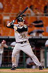 29 June 2005: Jason Bay, outfielder for the Pittsburgh Pirates, at bat during a game against the Washington Nationals. The Nationals rallied to defeat the Pirates 3-2 in a rain delayed game at RFK Stadium in Washington, DC.  Mandatory Photo Credit: Ed Wolfstein