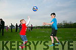 At the Rock Street/Caherslee Community Games on Thursday were Luke O'Donoghue and Luke Flynn