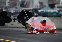 Oct. 6, 2012; Mohnton, PA, USA: NHRA pro stock driver John Gaydosh during qualifying for the Auto Plus Nationals at Maple Grove Raceway. Mandatory Credit: Mark J. Rebilas-