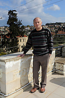Pictured: John Hatton Wednesday 15 February 2017<br /> Re: John and Heather Hatton, expat couple in Greece who are unable to sell their house in the village of Vamos, Chania, Crete to return to the UK because their neighbour won't pay his taxes.<br /> Heather Hatton needs to return to the UK for urgent medical care.