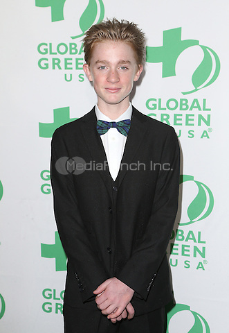 Hollywood, CA - February 22: Max Loughan, At 14th Annual Global Green Pre Oscar Party, At TAO Hollywood In California on February 22, 2017. Credit: Faye Sadou/MediaPunch