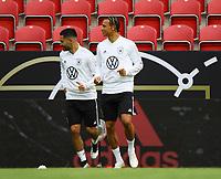 Ilkay Gündogan (Deutschland, Germany), Leroy Sane (Deutschland Germany) - 10.06.2019: Abschlusstraining der Deutschen Nationalmannschaft vor dem EM-Qualifikationsspiel gegen Estland, Opel Arena Mainz