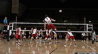 STANFORD, CA - January 13, 2012:  Brian Cook during Stanford's 25-13, 20-25, 25-14, 25-14 victory over Juniata in Stanford, California on January 13, 2012.