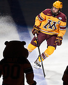 Kyle Rau (MN - 7) - The University of Minnesota Golden Gophers defeated the University of North Dakota 2-1 on Thursday, April 10, 2014, at the Wells Fargo Center in Philadelphia to advance to the Frozen Four final.