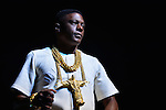 MIAMI, FL - SEPTEMBER 17: Boosie Badazz formerly Lil' Boosie onstage performs during the Kings of the Streets Tour with Plies, Lil' Boosie and Blac Youngsta at James L. Knight Center on September 17, 2016 in Miami, Florida.  ( Photo by Johnny Louis / jlnphotography.com )