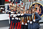 Members of the spanish army during the National Day Military Parad.October 12,2012.(ALTERPHOTOS/Acero)