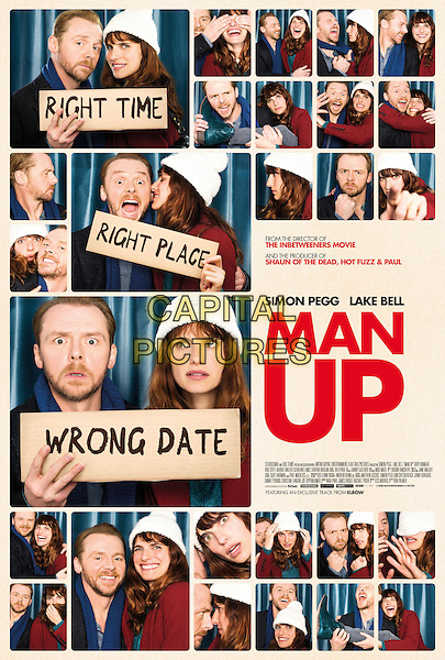 POSTER ART<br /> in Man Up (2015) <br /> *Filmstill - Editorial Use Only*<br /> CAP/NFS<br /> Image supplied by Capital Pictures