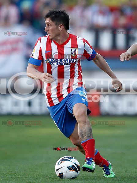 Atletico de Madrid's Cristian Cebolla Rodriguez during La Liga match.April 14,2013. (ALTERPHOTOS/Acero)