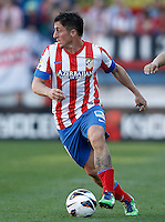 Atletico de Madrid's Cristian Cebolla Rodriguez during La Liga match.April 14,2013. (ALTERPHOTOS/Acero)