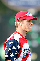 July 3, 2007: Aaron Niekula of the Kane County Cougars at Elfstrom Stadium in Geneva, IL  Photo by:  Chris Proctor/Four Seam Images