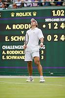 24-6-08, England, Wimbledon, Tennis,    Schwank