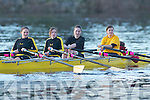 Muckross Rowing Club crew Michelle Fleming, Aisling ODonoghue, Simone McCarthy and Rebecca Williams competing in the Head of the River rowing competition in Killorglin last Saturday.