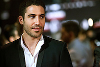 "Spanish actor  Miguel Angel Silvestre  attends the ""Alacran Enamorado"" Premiere in Madrid at the Callao Cinema"