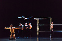 "Edinburgh, UK. 18.08.2016. Scottish Ballet present a double bill of Angelin Preljocaj's ""MC 14/22"" and Crystal Pite's ""Emergence"", at the Festival Theatre, as part of the Edinburgh International Festival. The piece shown is: ""MC 14/22"", choreographed by Angelin Preljocaj. Photograph © Jane Hobson."
