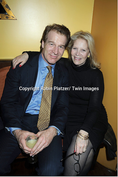 "Kevin         and Daryl Roth attending the Opening night party for .""Cactus Flower"" on March 10, 2011 at B Smith's Restaurant. The show stars Lois Robbins, Maxwell Caulfield and Jenni Barber."