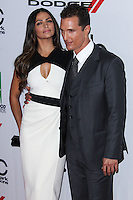 BEVERLY HILLS, CA - OCTOBER 21: Camila Alves, Matthew McConaughey at 17th Annual Hollywood Film Awards held at The Beverly Hilton Hotel on October 21, 2013 in Beverly Hills, California. (Photo by Xavier Collin/Celebrity Monitor)