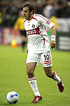 1 November 2007: Chicago's Cuauhtemoc Blanco. The Chicago Fire tied DC United 2-2 at RFK Stadium in Washington, DC in the second leg of a first round Major League Soccer playoff match. Chicago advanced on aggregate goals, 3-2.