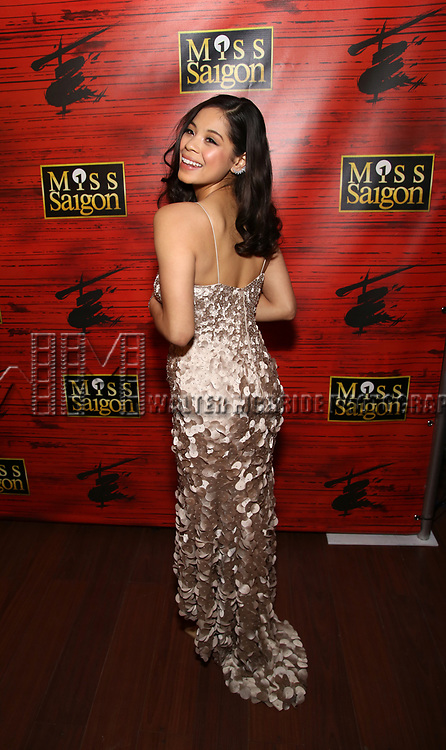 "Eva Noblezada attends The Opening Night After Party for the New Broadway Production of ""Miss Saigon"" at Tavern on the Green on March 23, 2017 in New York City"