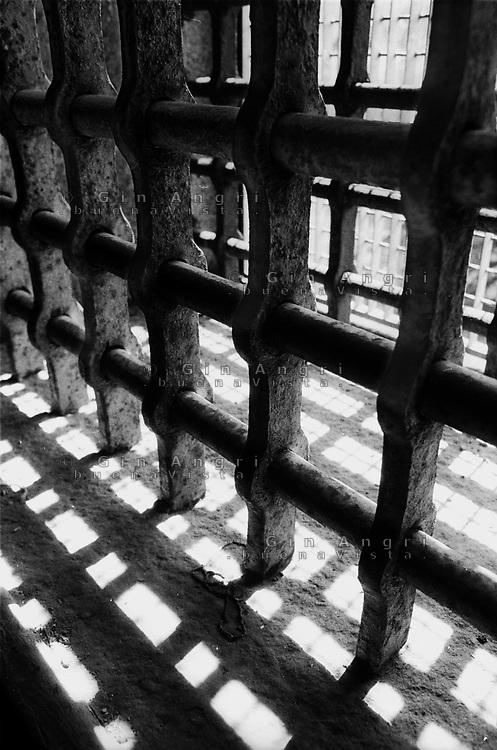grate dell'ex carcere san Donnino di Como