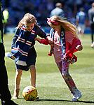 12.05.2019 Rangers v Celtic: Rangers kids