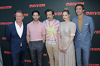 "LOS ANGELES - JUL 31:  Nick Hamm, Iddo Goldberg, Jason Sudeikis, Judy Greer, Lee Pace at the ""Driven"" Los Angeles Premiere at the ArcLight Hollywood on July 31, 2019 in Los Angeles, CA"