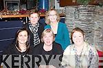 Enjoying Nollaig na mBan in QC's Bar & Restaurant Cahersiveen were front l-r; Mary B. Conway, Niamh Quinlan, Maureen Cournane, back l-r; Breda O'Shea & Joan O'Shea.