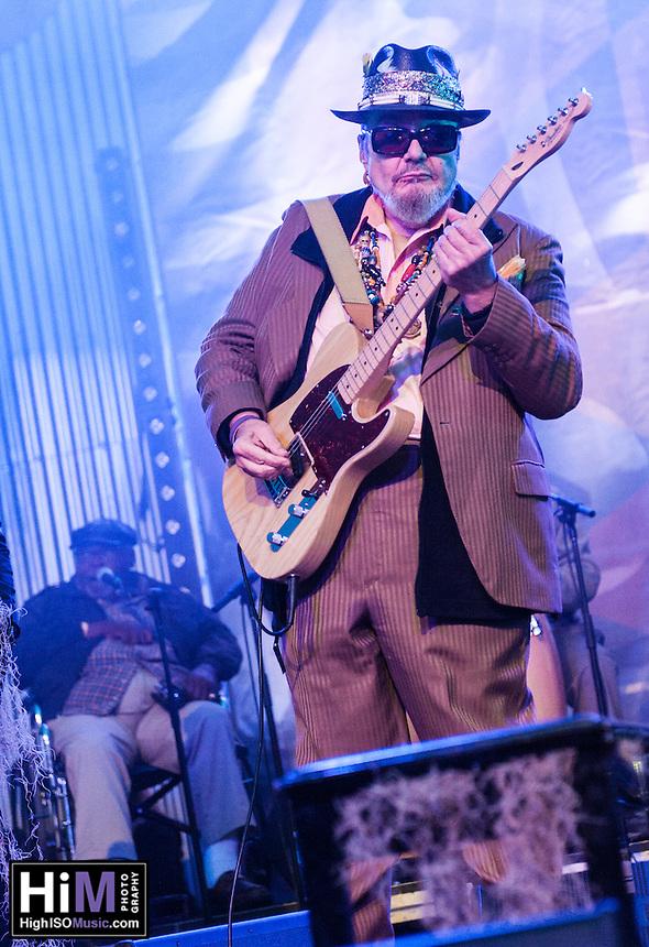 Dr. John at Voodoo Fest 2013 in New Orleans, LA on Day 3.