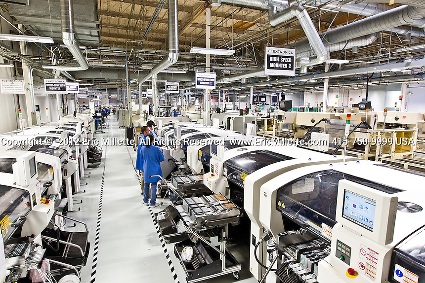 flextronics manufacturing facility in milpitas san