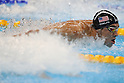 Michael Phelps (USA),<br /> AUGUST 13, 2016 - Swimming : <br /> Men's 4x100m Medley Relay Final <br /> at Olympic Aquatics Stadium <br /> during the Rio 2016 Olympic Games in Rio de Janeiro, Brazil. <br /> (Photo by Koji Aoki/AFLO SPORT)