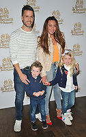 Michelle Heaton, Hugh Hanley &amp; their kids at the &quot;Elf Pets: Santa's St. Bernard's Save Christmas&quot; VIP screening, Picturehouse Central, Corner of Shaftesbury Avenue, London, England, UK, on Sunday 04 November 2018.<br /> CAP/CAN<br /> &copy;CAN/Capital Pictures
