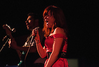 """Jenni May Toro leads The Modern Savage as they celebrate the release of their new 5-song album """"Unfazed"""" with a first tap concert at the Bear Tooth Theatrepub."""