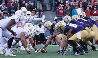 The Huskies and Cougs battle for the 108th Apple Cup.