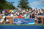 The Wake Forest Demon Deacons faced off against the Ohio State Buckeyes during the 2018 NCAA Men's Tennis Championship at the Wake Forest Tennis Center on May 22, 2018 in Winston-Salem, North Carolina.  The Demon Deacons defeated the Buckeyes 4-2. (Brian Westerholt/Sports On Film)