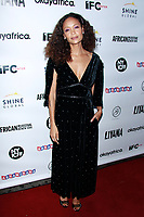 NEW YORK, NY - OCTOBER 9: Thandie Newton  attends &lsquo;LIYANA&rsquo; New York IFC Center Screening  on October 9, 2018 in New York City.           <br /> CAP/MPI99<br /> &copy;MPI99/Capital Pictures
