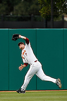 Lucas Duda of the USC Trojans during a game against the Tulane Green Wave at Dedeaux Field on February 25, 2007 in Los Angeles, California. (Larry Goren/Four Seam Images)
