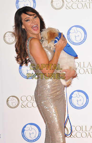 Elizabeth &quot;Lizzie&quot; Cundy attends the Collars &amp; Coats Gala Ball 2015, Battersea Evolution, Battersea Park, London, England, UK, on Thursday 12 November 2015. <br /> CAP/CAN<br /> &copy;CAN/Capital Pictures