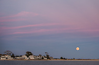 Full Moon Over Greenport<br />
