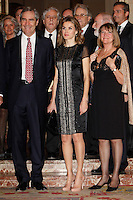 Princess Letizia of Spain and Michael Ignatieff attend the 'Francisco Cerecedo Journalism Award' ceremony at the Ritz Hotel in Madrid. November 20, 2012. (ALTERPHOTOS/Caro Marin) /NortePhoto