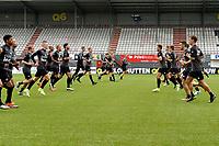 EMMEN - Voetbal, Eerste training FC Emmen , Jerns Vesting , 05-07-2017,  shuttle run